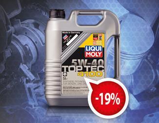 Акция! 5 литров Top Tec 4100 5W-40 по цене 4-х литров