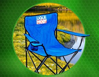 Розыгрыш 7 стульев для кемпинга LIQUI MOLY