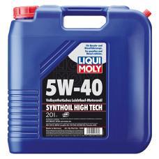 Синтетическое моторное масло - Synthoil High Tech SAE 5W-40 20 л.