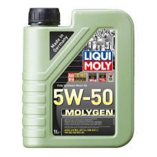 Синтетична моторна олива - Molygen 5W-50   1л.