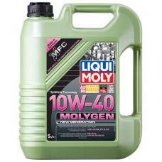 Полусинтетическое моторное масло - Molygen New Generation 10W-40   5 л.