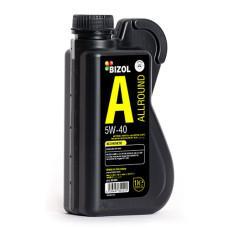 Синтетична моторна олива -  BIZOL Allround 5W-40 1л