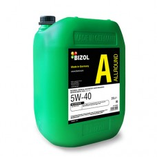 Синтетическое моторное масло -  BIZOL Allround 5W-40 20л