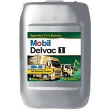 Синтетическое моторное масло Mobil Delvac 1 LE 5W-30 20 л