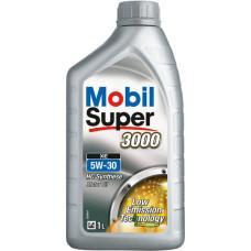 Синтетическое моторное масло Mobil Super 3000 XE 5W-30 1 л