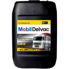 Минеральное моторное масло Mobil Delvac MX 15W-40 20л
