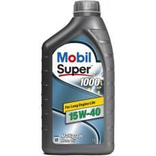 Минеральное моторное масло Mobil Super 1000 15W-40 1 л