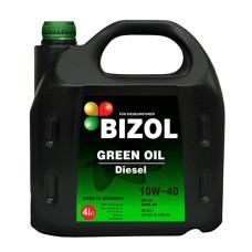 Полусинтетическое моторное масло -  BIZOL GREEN OIL DIESEL 10W-40 4л