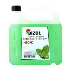 Зимний омыватель (концентрат -80C), аромат Альпийская Мята BIZOL, 4л