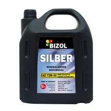 Минеральное моторное масло -  BIZOL SILBER 15W-40 5л