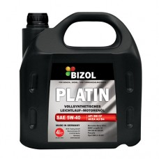Синтетическое моторное масло -  BIZOL PLATIN 5W-40 4л