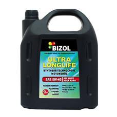 Синтетическое моторное масло -  BIZOL ULTRA LONGLIFE 5W-40 5л
