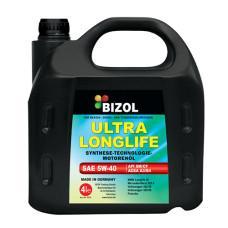 Синтетическое моторное масло -  BIZOL ULTRA LONGLIFE 5W-40 4л