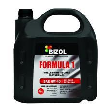 Синтетическое моторное масло -  BIZOL FORMULA 1 0W-40 4л