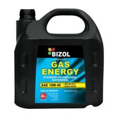 Полусинтетическое моторное масло -  BIZOL Gas Energy 10W-40 4л