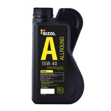 Минеральное моторное масло -  BIZOL Allround 15W-40 1л