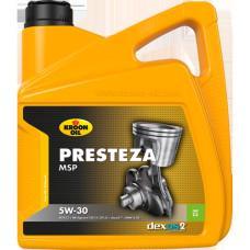Синтетическое моторное масло - KROON OIL  PRESTEZA MSP 5W-30 4л