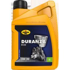 Синтетическое моторное масло - KROON OIL  DURANZA ECO 5W-20 1л
