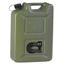 Пластиковая канистра для топлива Hunersdorff (оливковая) 20 л.