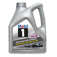 Синтетическое моторное масло Mobil 1 5W-30 4 л