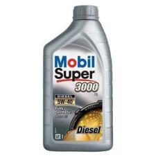 Синтетическое моторное масло Mobil Super 3000 Diesel 5W-40  X1 1л