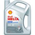 Синтетическое моторное масло Shell Helix HX8 5w/30 4л