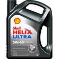 Синтетическое моторное масло Shell Helix Ultra 5w/40 4л