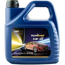 Синтетическое моторное масло VATOIL SYNGOLD LL 5W30  4Л