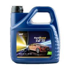 Синтетическое моторное масло VATOIL SYNGOLD LL-III PLUS 5W30  4Л
