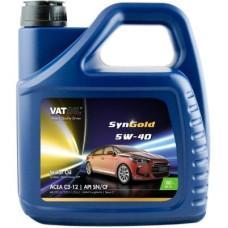 Синтетическое моторное масло VATOIL SYNGOLD 5W40  4Л