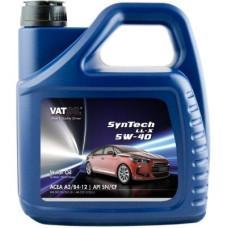 Синтетическое моторное масло VATOIL SYNTECH LL-X 5W40  4Л